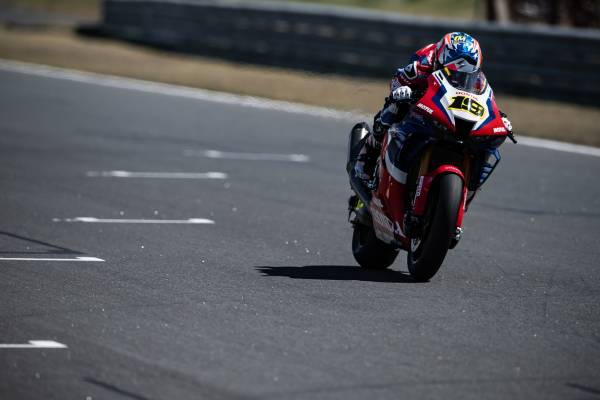 Bautista recovers well in Race 1 to finish eighth; more points for Haslam, twelfth