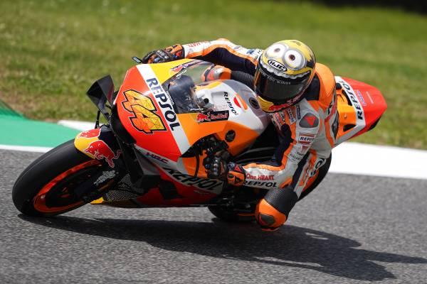 Honda Riders Endure Tough Day At Mugello