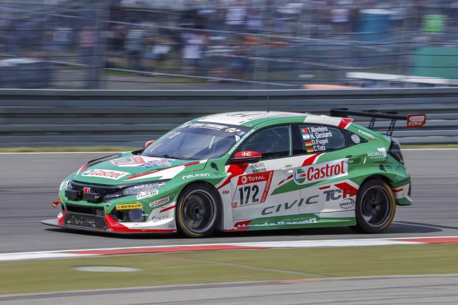 Honda Racingのモンテイロとジロラミがニュルブルクリンク24時間レースに参戦