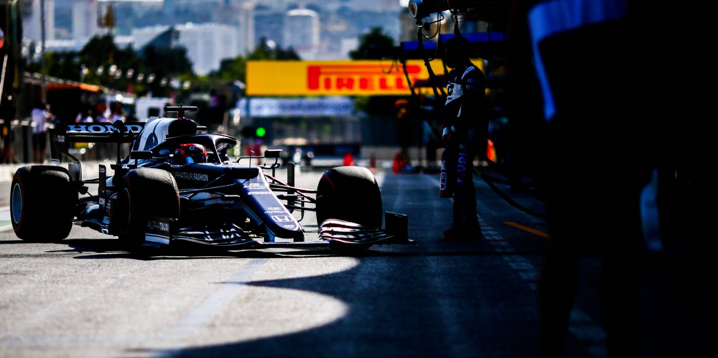It's A Second Row Lockout For Honda Power In Baku