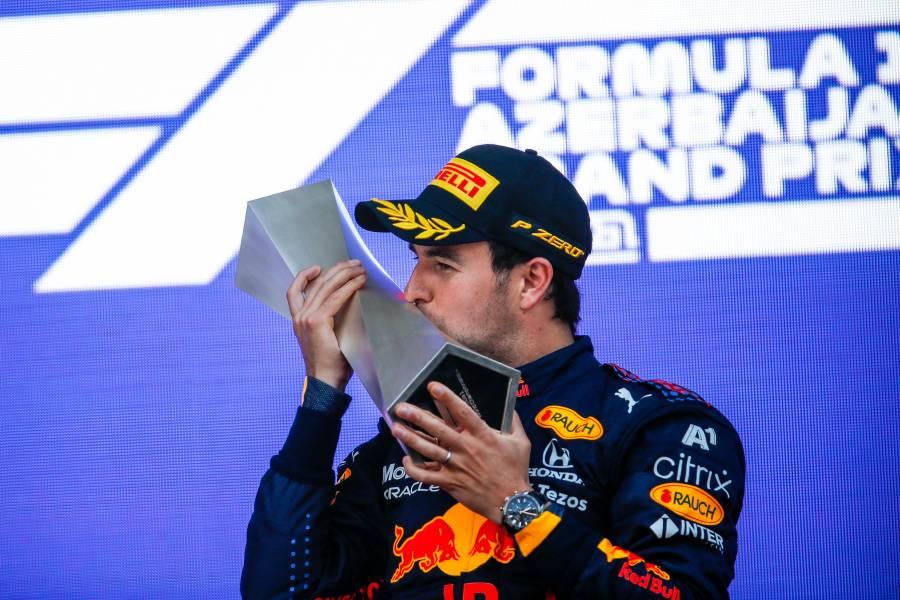 Perez leads a Honda Double-Podium In Baku.