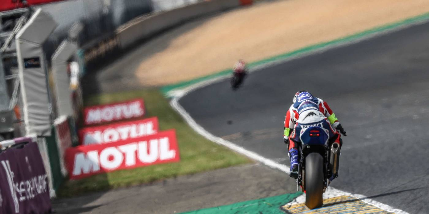 F.C.C. TSR Honda France qualifies in sixth, RAC41 Chromeburner third in class for the start of the 24h Motos at Le Mans