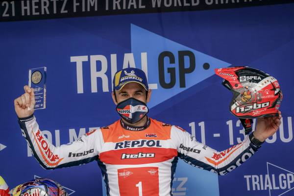 Victorious return for Toni Bou in the Trial World Championship season opener