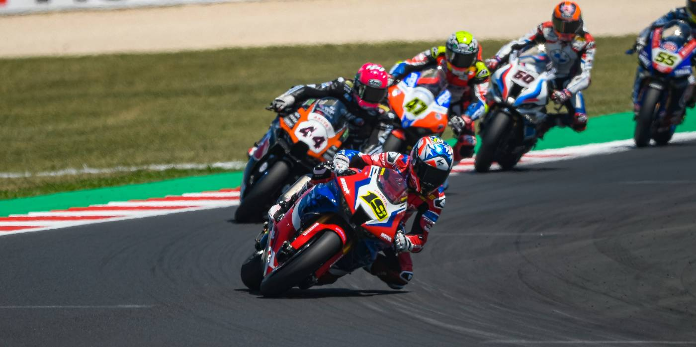 Bautista a strong sixth in Race 1 at Misano but seeks more on Sunday