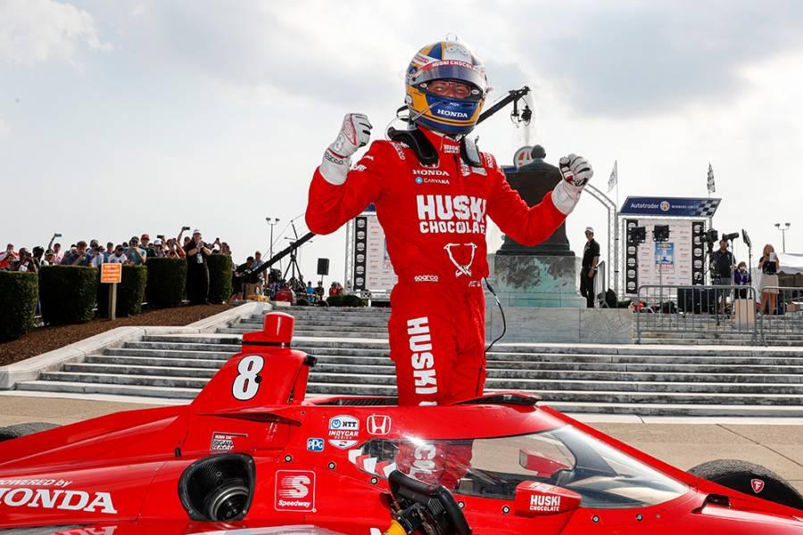 デトロイトのダブルヘッダー1戦目でマーカス・エリクソンがキャリア初優勝