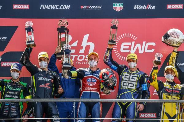 F.C.C. TSR Honda Franceがル・マン24時間レースを9位でフィニッシュ、National Motosはスーパーストッククラスで優勝