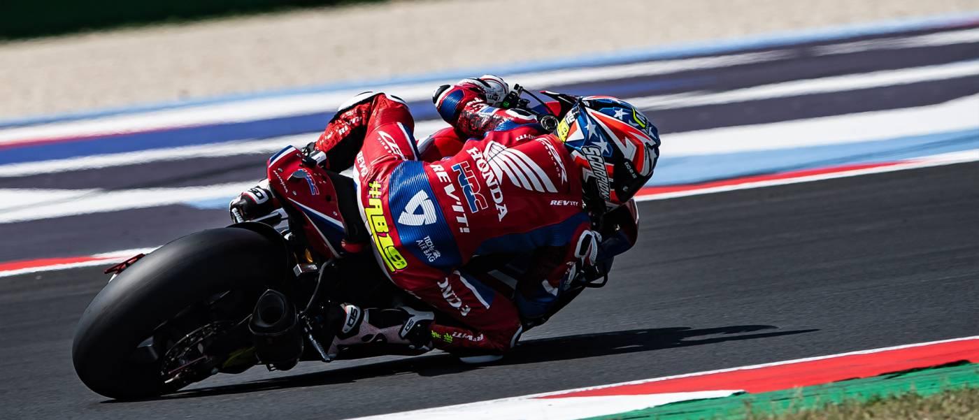 バウティスタがレース2で8位 2日連続でポイントを獲得する