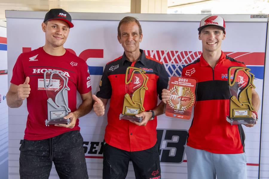 Double Honda podium in Russia
