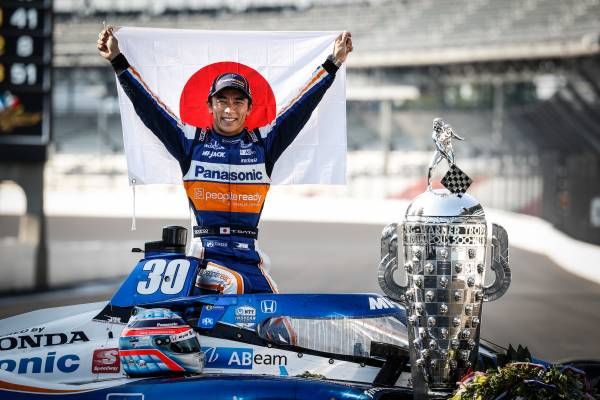 Two Time Indy 500 Winner - Takuma Sato