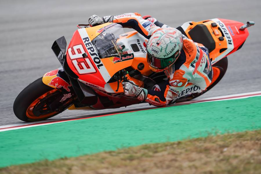 Marquez Returns to His Happiest Hunting Ground