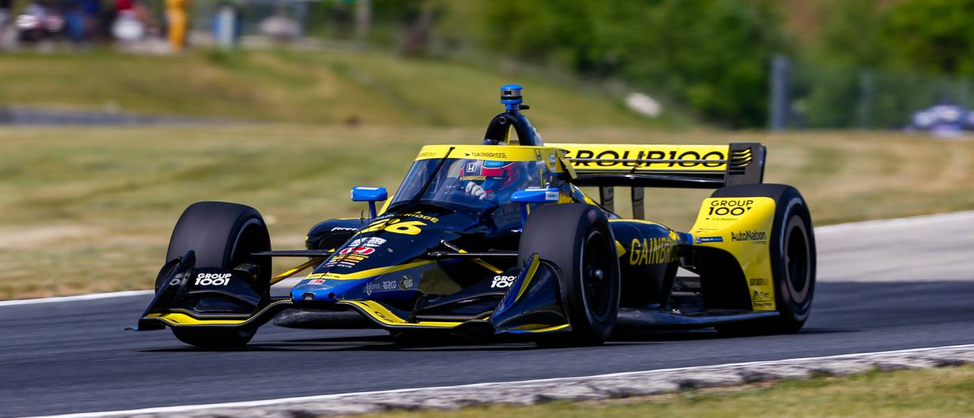Second and Third for Herta, Harvey and Honda in Qualifying at Road America