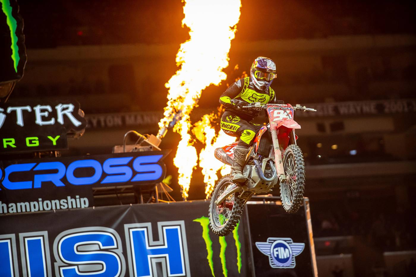 Roczen Takes His First Victory of the Season, in Indianapolis
