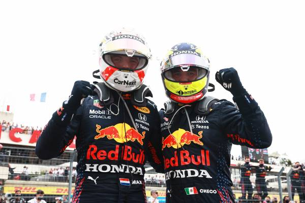 Verstappen Leads Home A Double Podium In France For The Bulls