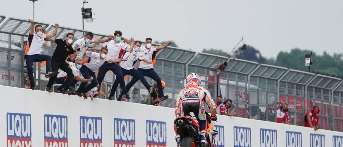 マルク・マルケス今季初優勝。ドイツGPで11大会連続優勝を達成する