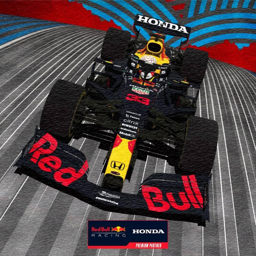 フランスGP優勝記念ポスター