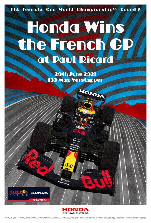 Honda Wins The French GP