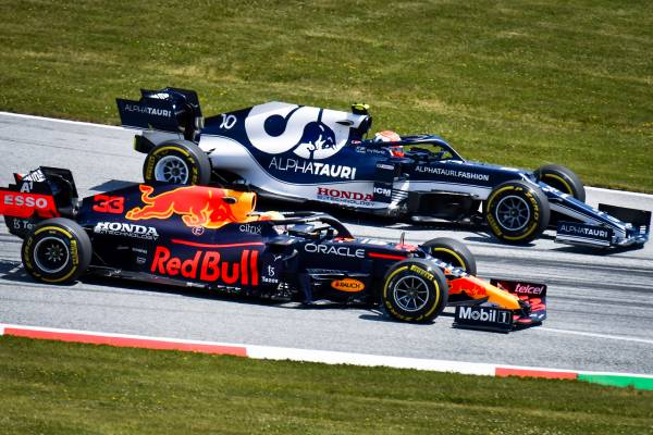Verstappen Tops Friday Practice At The Red Bull Ring #F1