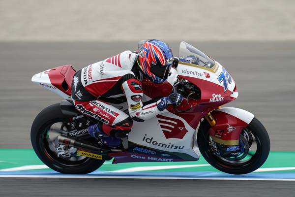 Rookie Ogura Secures Third Moto2 Second Row Start