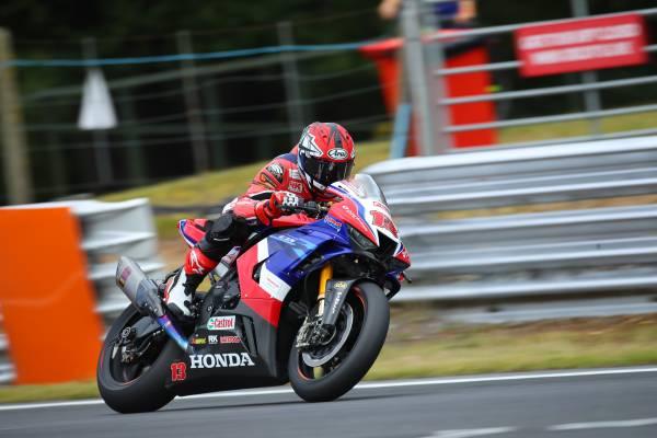 Honda Racing UK in action at Oulton Park for BSB season opener