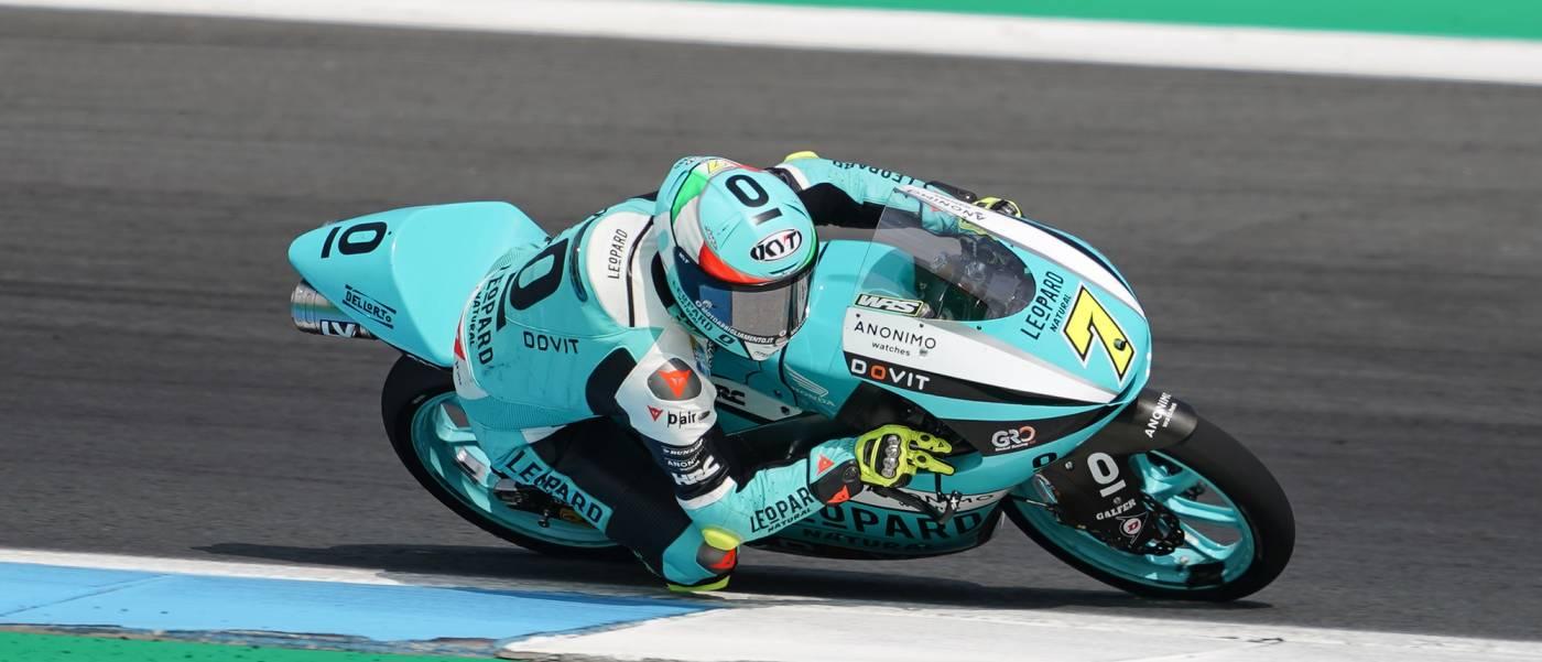 Foggia Wins Again To Advance in Moto3 Title Battle