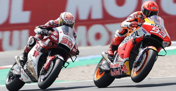 Brave Marquez Goes From 20th To Seventh At Assen