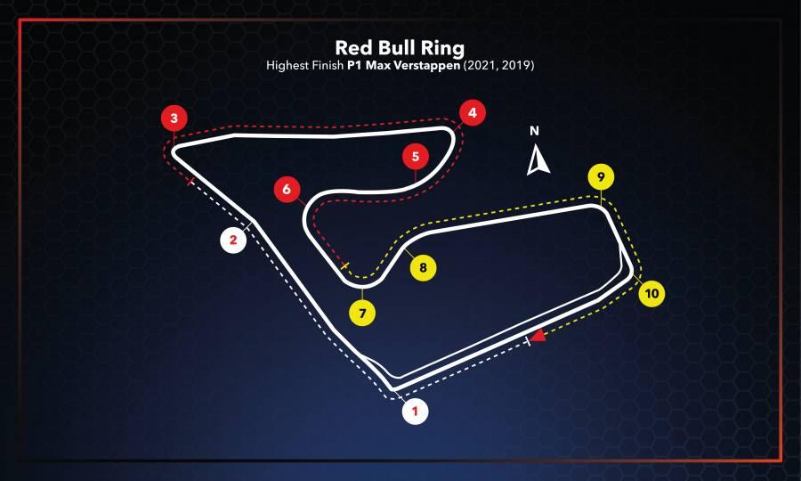 Austrian Grand Prix Race Setup #F1