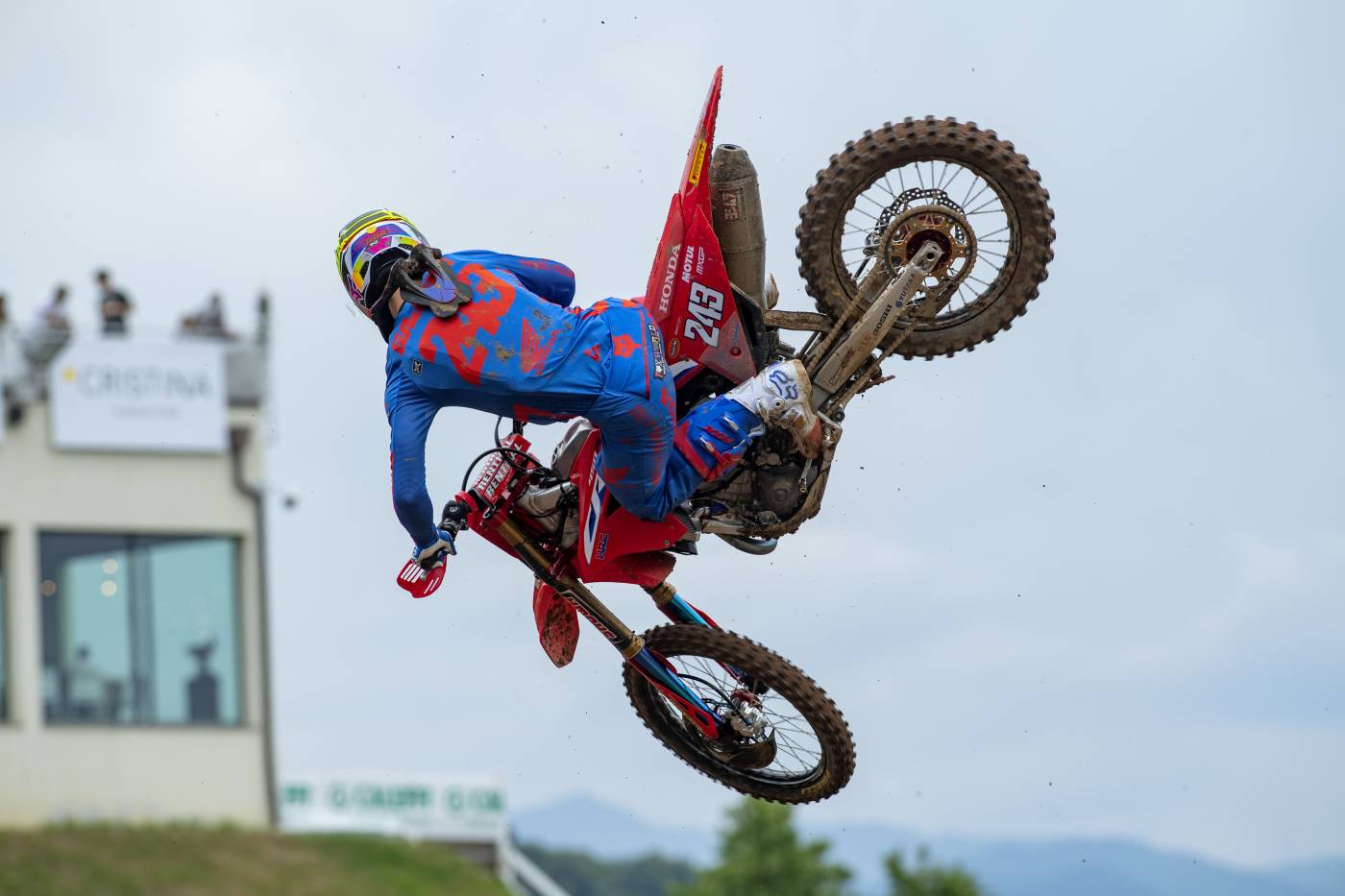 Tim Gajser and Team HRC retain the World Championship lead in Italy