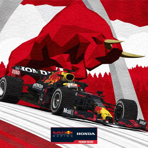 Download our #AustrianGP Winners Poster #F1