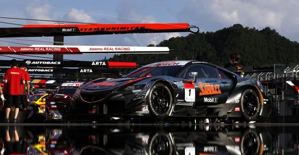 STANLEY NSX-GTがHonda勢今季初のポールポジション獲得