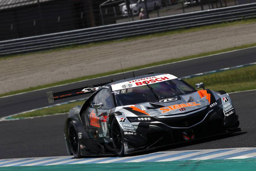 STANLEY NSX-GT Wins from Pole at Twin Ring Motegi