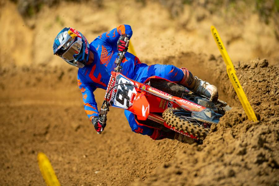 Roczen Earns a Moto Win at Spring Creek MX