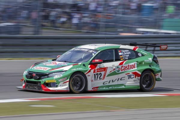 Honda Racing duo Monteiro and Girolami to contest Nürburgring 24 Hours