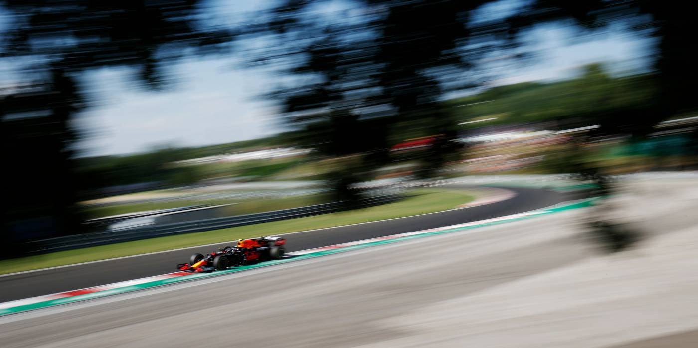 A Hot Practice Day At The Hungaroring For Honda Power #F1
