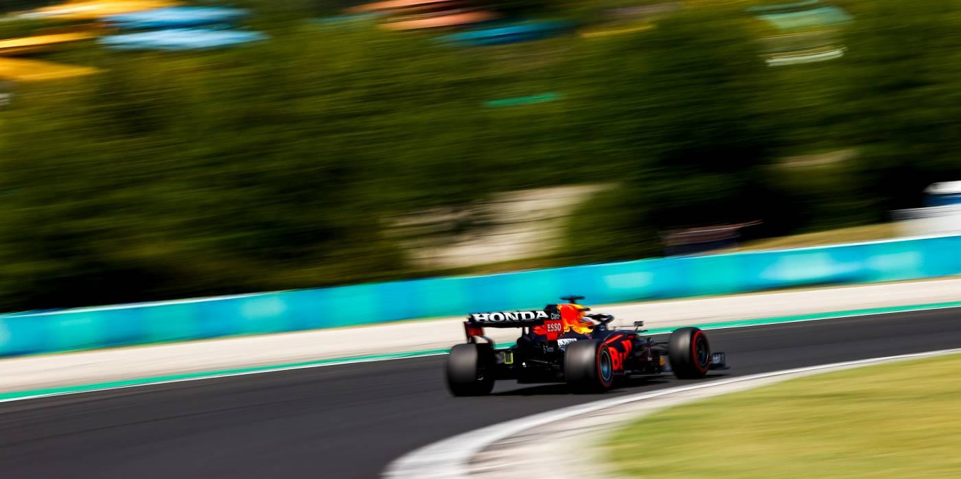 Three Honda Powered Cars Start In The Top 5 In Hungary #F1