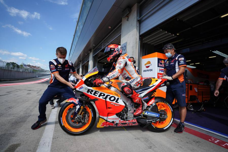 Marquez Ready To Fight From Third Row At Red Bull Ring