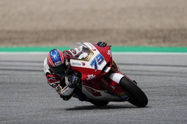 Ogura Scores First Moto2 Front-row Start!