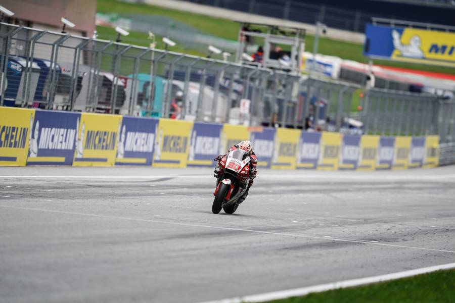 Nakagami Rides Strong Race to Fifth at Red Bull Ring