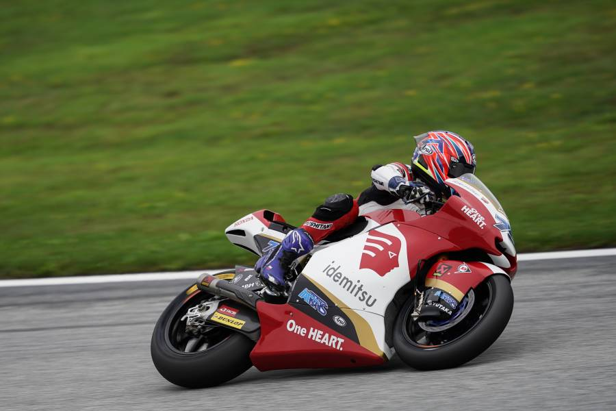 Ogura Battles for Podium and Rides Fastest Lap