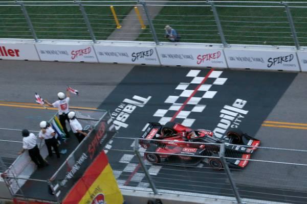 ナッシュビルのダウンタウンでの初開催イベントでマーカス・エリクソンが優勝 Honda勢がトップ7を独占