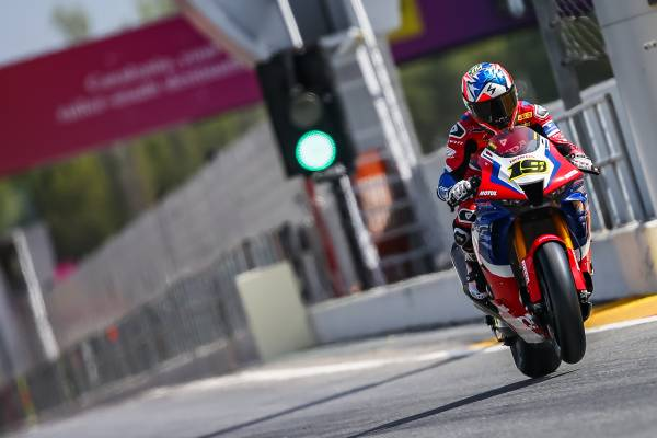 A fruitful test for Team HRC at the Catalunya-Barcelona circuit