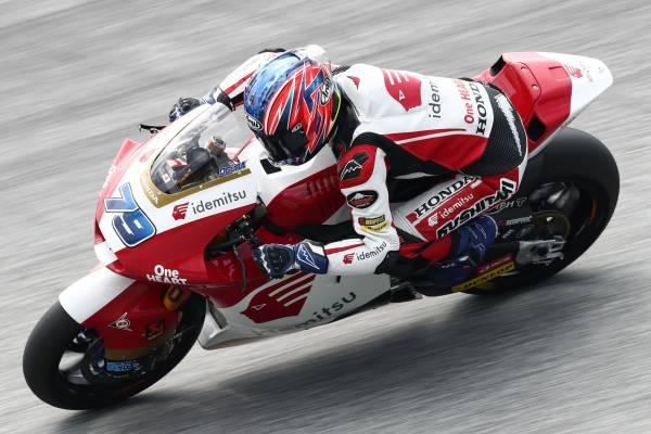 Honda Team Asia's Ogura On Front Row Again