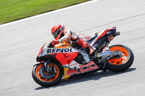 Marquez To Start Austrian Grand Prix From Second Row