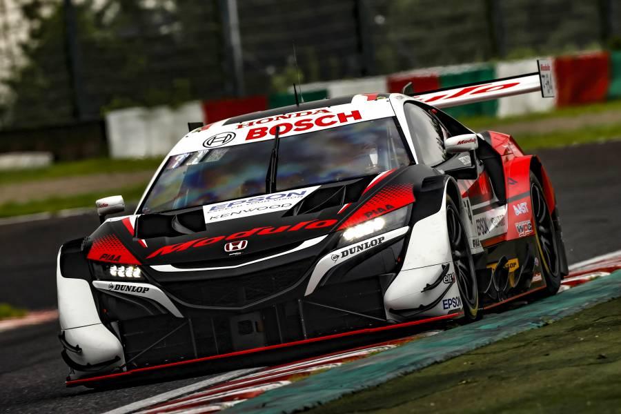 Modulo NSX-GTがポールポジション、Red Bull MOTUL MUGEN NSX-GTが2番手でHonda勢がフロントローを独占