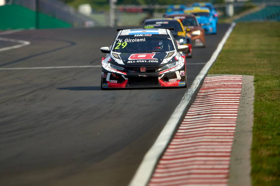 Girolami denied podium after determined drive in Hungary