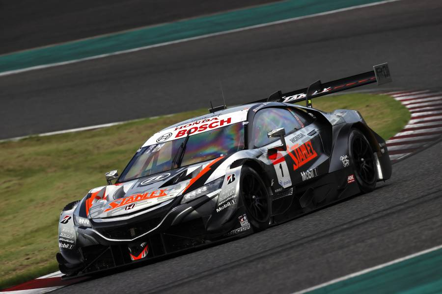 STANLEY NSX-GT's Yamamoto and Makino Lead the Points After Rescheduled Round 3