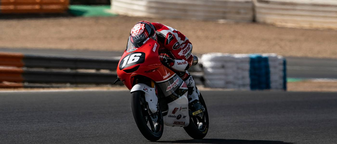 Hard fought races at Jerez for Asia Talent Team riders