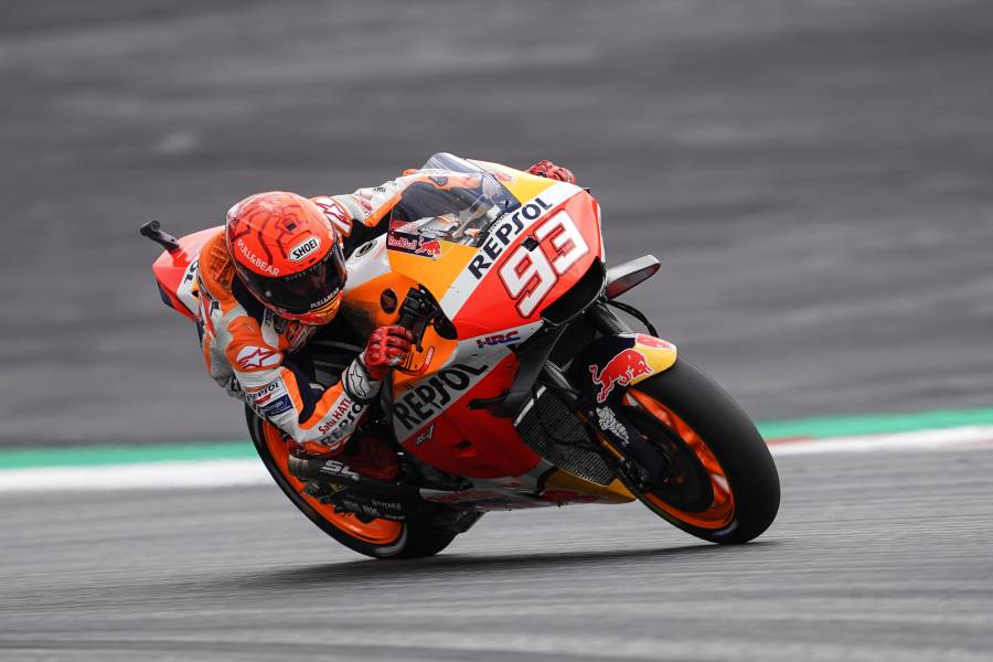 Marquez And His RC213V All Set For Fast-And-Furious Silverstone