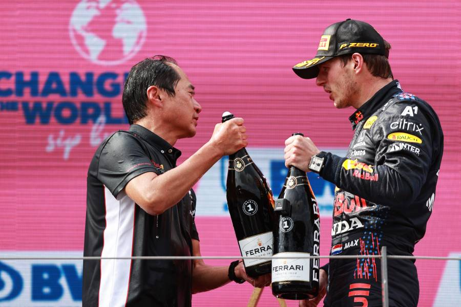 Celebrating 50 Races With Red Bull Racing