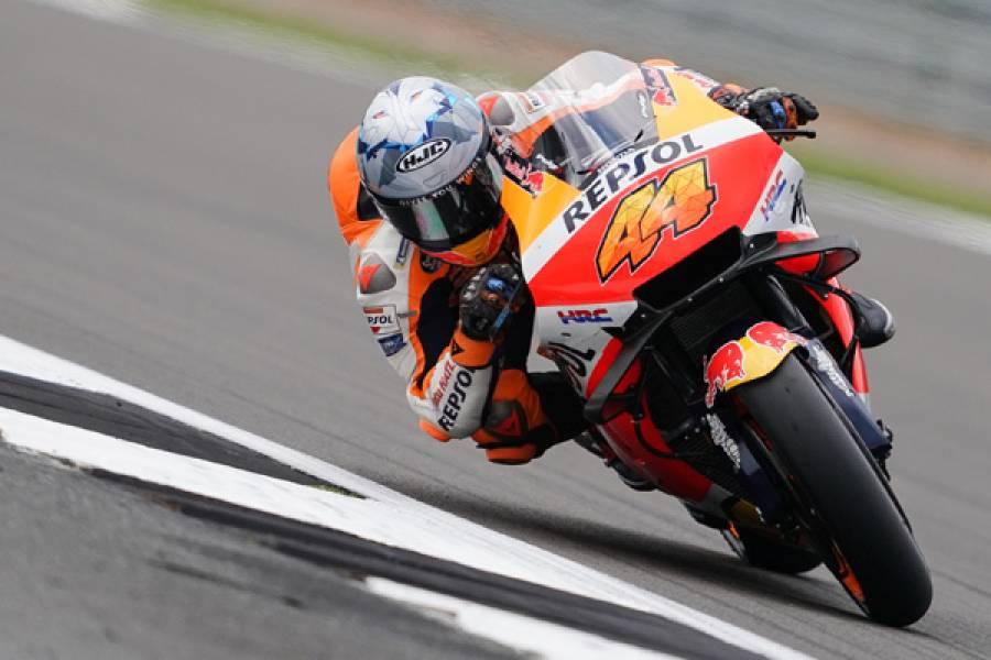 Espargaro Scores Superb First MotoGP Pole With Honda