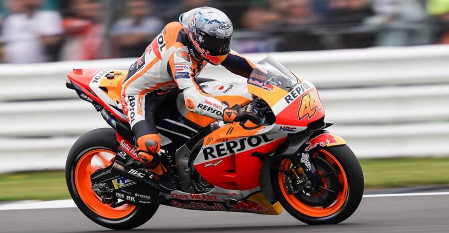 Espargaro Battles For First Honda Podium, Finishes Fifth
